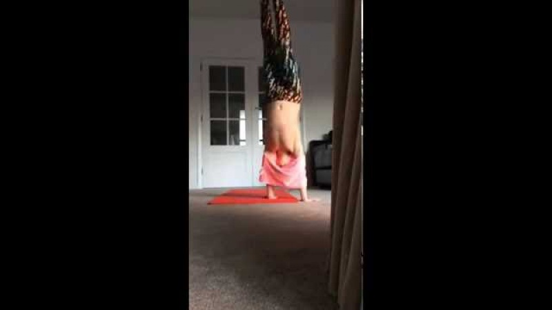 Trying to see how many handstands I can do in one minute