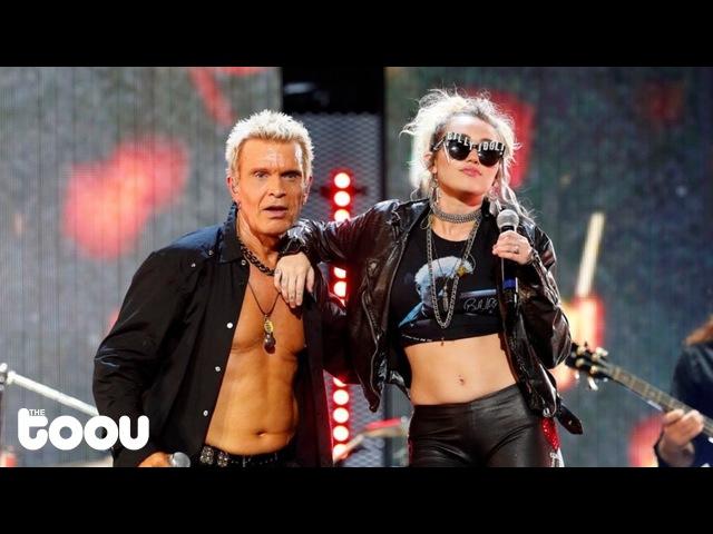 Miley Cyrus Billy Idol - Rebel Yell (Live Performance)