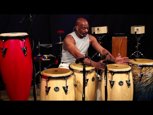 Latin Percussion Online Class with Ron Powell (Congas)
