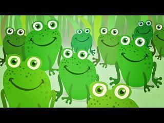 Мультик про лягушек - познавательный мультфильм для малышей