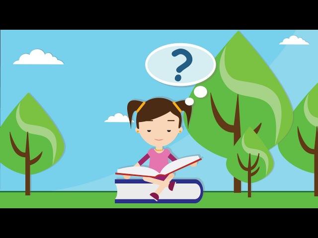 Интерактивное видео (мультфильм). Русский алфавит для детей. Азбука в стихах - бу ...