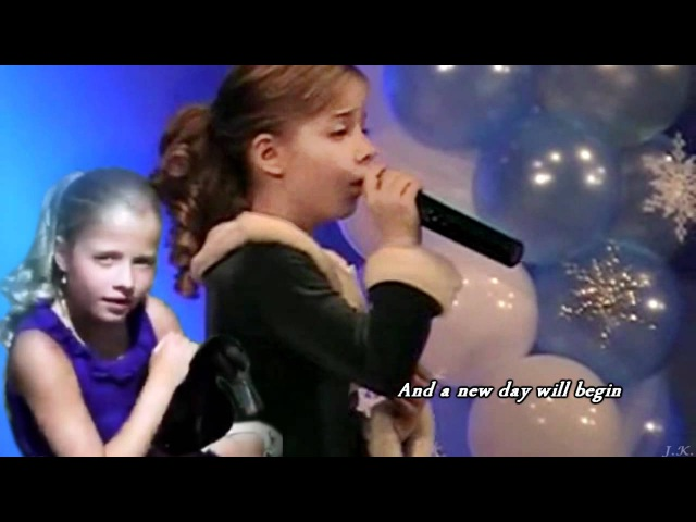 Musical Cats Memory with lyrics by 9 Year old Jackie Evancho