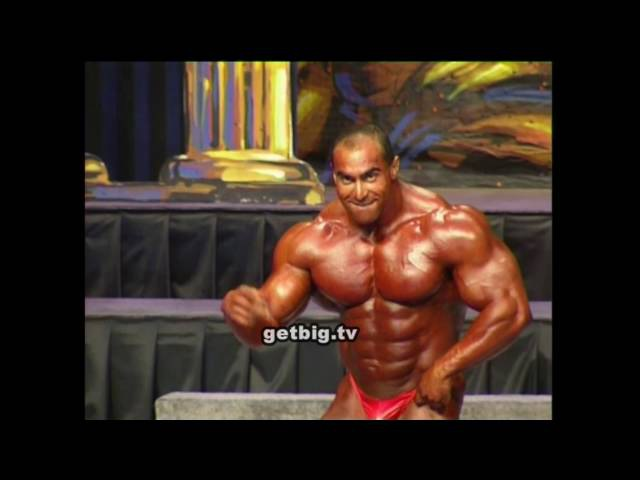 Nasser El Sonbaty / 2nd place at the Mr.Olympia - 1997 / Нассер Эль Сонбатти