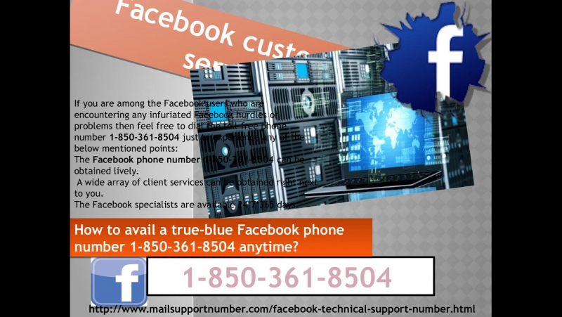 How to rigorously avail a Facebook customer service 1-850-361-8504 anytime?