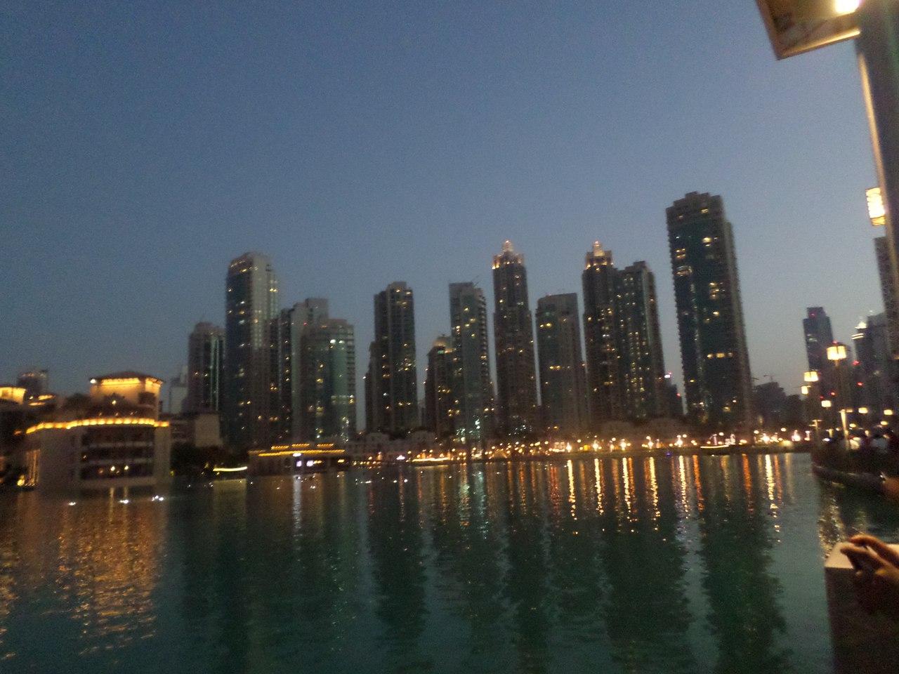 Вечерний Дубай. Май 2015.