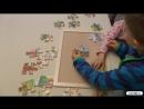 12010 Rahmenpuzzle Tierpark - Frame Puzzle Zoo (beleduc)