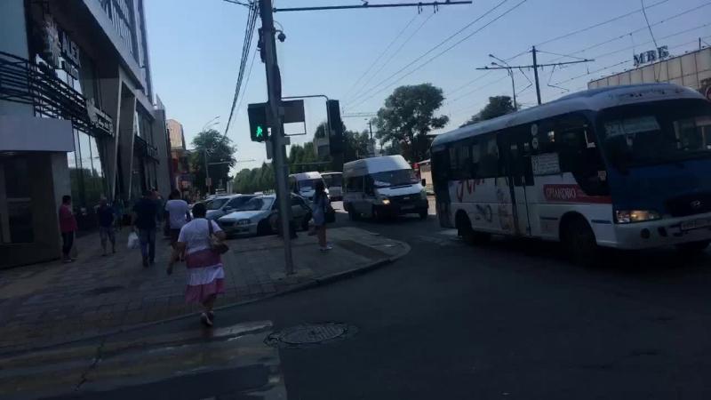 Выделенная полоса трамвая в г. Кранодаре