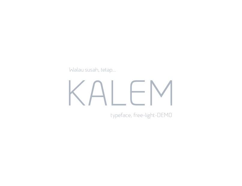 Kalem шрифт скачать бесплатно
