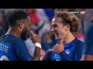 Франция - Парагвай 5:0. Обзор товарищеского матча