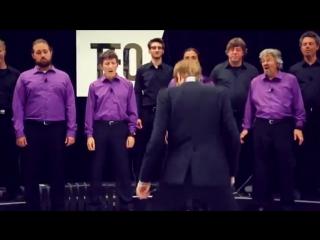 Живое пианино - Человеческий хор
