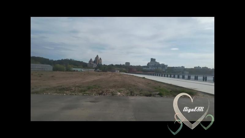 Мост Миллениум - символ города Казани