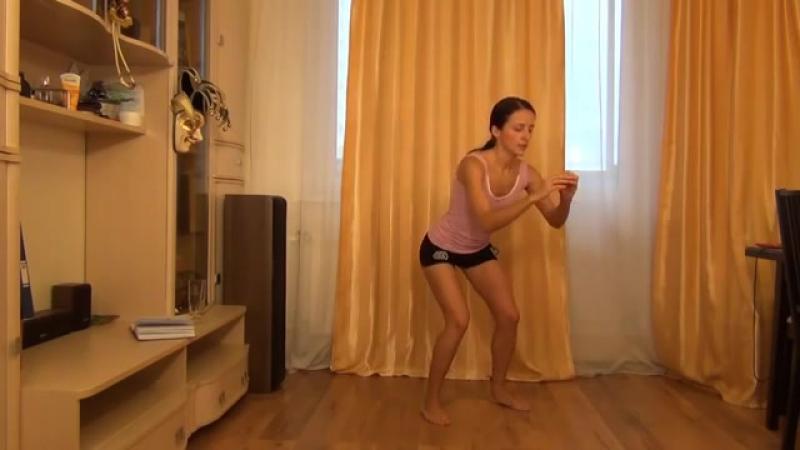 Жиросжигающая тренировка для похудения. Интенсивные упражнения для похудения