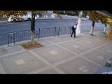 Уличная камера наблюдения и маленькое чудо