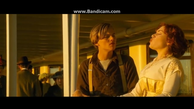 Titanic 1997 Jack Teaches Rose To Spit Like a Man