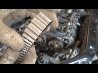 Лада Приора, Калина, Гранта 16-клапанный двигатель замена ремня ГРМ и роликов