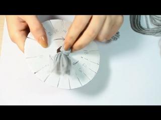 Кумихимо. Плетение шнура. Machine for Kumihimo (braided line)