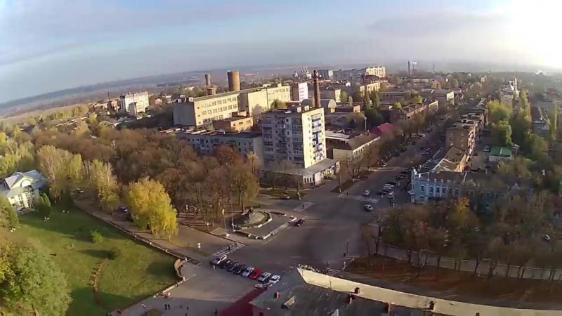 РОМНЫ вид с квадрокоптера Romny