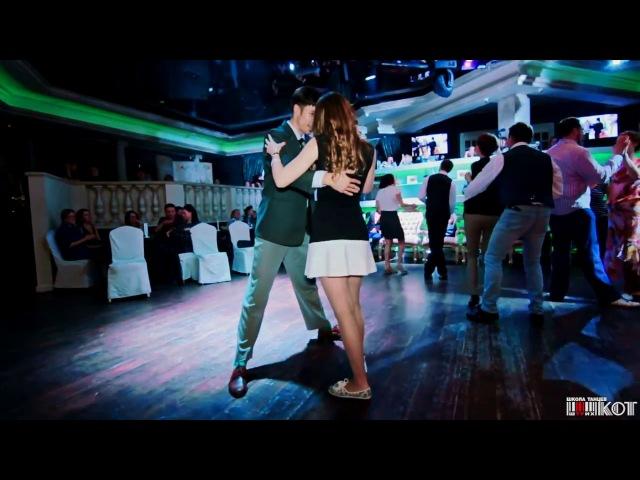 Alexey Kazenov Anna Ivanova Blues Dance Social @ 6th Anniversary Dance School Shtrih-Kot