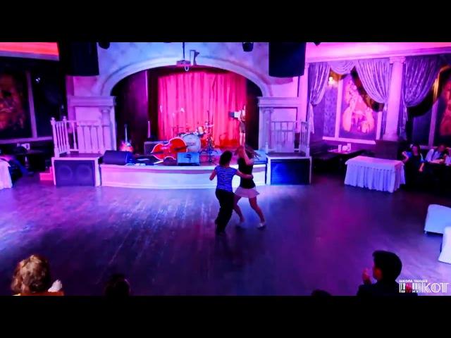 Lindy-Hop Performance Ekaterina Semakova Anna Ivanova @ 6th Anniversary Dance School Shtrih-Kot