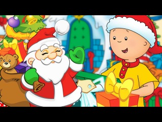Christmas Cartoon Compilation | Caillou's Christmas with Santa Snowman | Cartoons for Kids