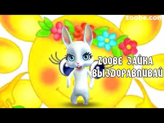 Zoobe Зайка, выздоравливай)