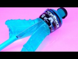 How To Make Real Powerade Drinking Water Pudding Jelly Cooking Learn the Recipe DIY 리얼 콜라 푸딩 젤리 만들기