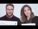 Seth Rogen Rose Byrne Answer The Web's Most Searched Questions WIRED
