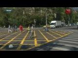 Новая «вафельная» разметка в Москве озадачила водителей и пешеходов