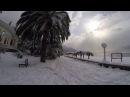 Природные катаклизмы в Абхазии!Зима пришла в Гагры!