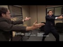 The Office Murder Mexican Standoff