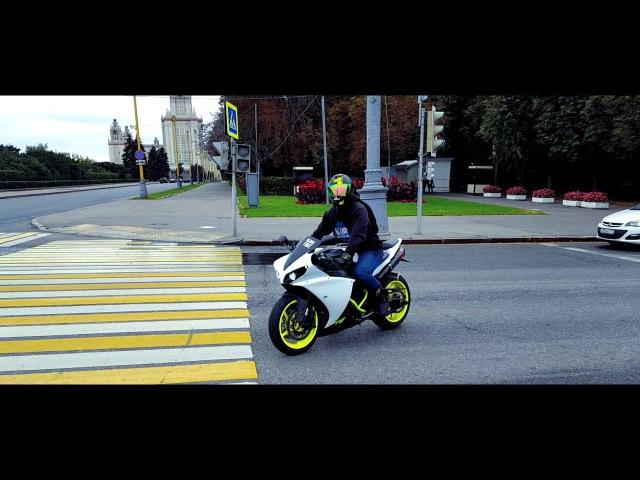 Wheelie Time на ул.Косыгина(без монтажа) || Double Yamaha r1