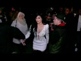 Kylie Jenner and her BF Tyga at the the Philipp Plein fashion show in NYC