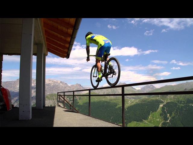 Vittorio Brumotti goes crazy in Livigno