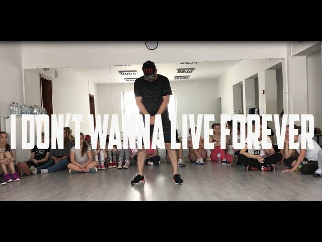 ZAYN Taylor Swift - I Don't Wanna Live Forever | Choreography by Igor Kmit