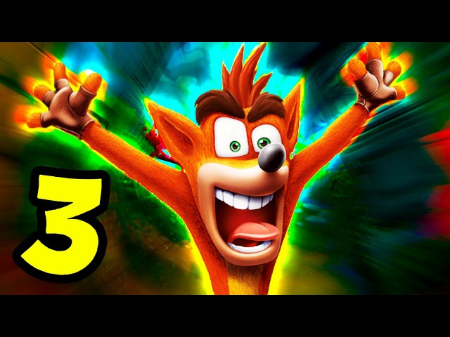 THE RAGE IS RISING | Crash Bandicoot NSane Trilogy - Part 3