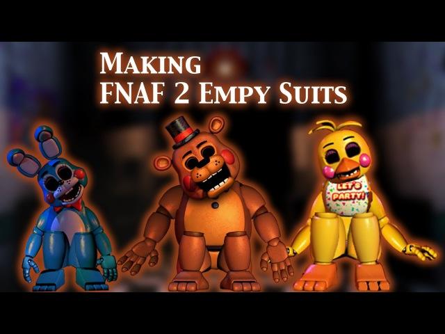 (FNAF | Speed Edit) Making FNAF 2 Empty Suits (1/3)
