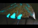 СТОЛ МОЛНИЯ Часть 1 Столешница Как сделать светящийся стол из эпоксидной смолы