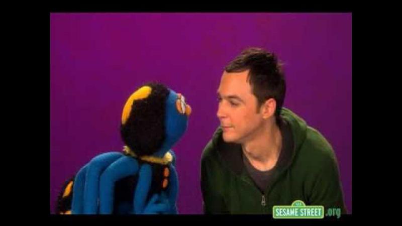 Jim Parsons on Sesame Street -
