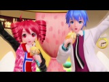 【PDFT】Rin-chan Now!【Triphone/VCV Kasane Teto x V3 Straight KAITO feat V4X Sweet Rin】