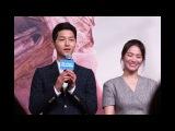 Song Joong Ki: 'Mỗi lần tôi khóc, Song Hye Kyo đều an ủi tôi'. -Tin Tức 24h