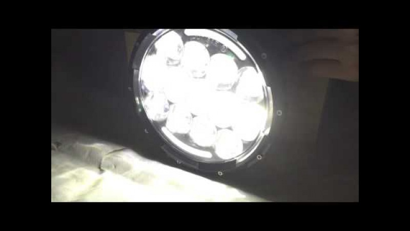 7inch Round 85w led headlight with DRL for Jeep wrangler kits.
