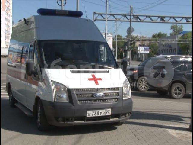Мотоциклист сломал руку по вине хабаровской автолюбительницы. MestoproTV