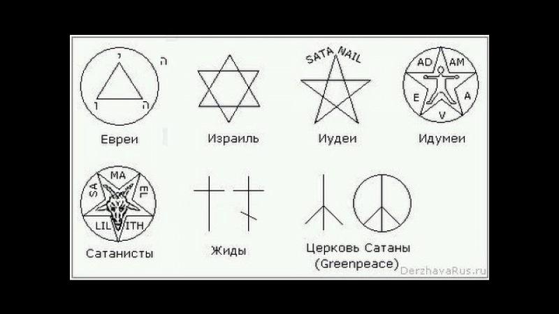 О символике серых(евреев и жидов) Хиневич(Патер Дий )