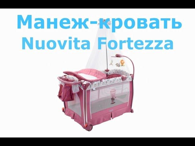 Детская кровать манеж Nuovita Fortezza ВИДЕООБЗОР