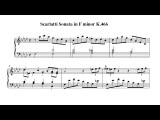 Scarlatti Sonata in F minor K.466 - by Paul Barton