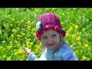Шляпка панамка крючком для девочки Hat panama crochet for girls