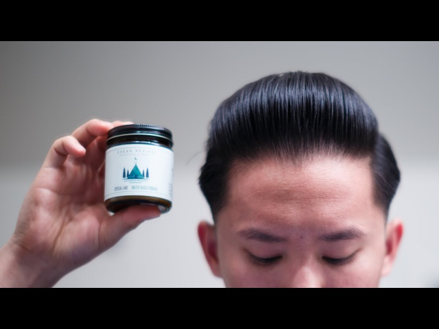 Shear Revival Crystal Lake Review -- The Best Water-Based Pomade