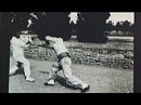 1897 Boxe Francaise (Savate) Baton Demonstration - Lyon France