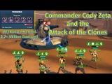 Star Wars Galaxy of Heroes Commander Cody Zeta + Clones P2 Heroic AAT Raid (2.7+ Million!)