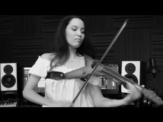 Caitlin De Ville исполнила на Электро скрипке Galway Girl (Ed Sheeran) -